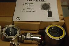 Net Safety Monitoring MLP-A-ST1200-100-SEP-SS, with H2S-100, Gas Detector   New