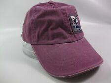 Killer Whale Thin Patch Sea World Youth Hat Purple Strapback Baseball Cap