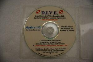 Saxon Algebra 1/2 (3rd Edition) Math Dive CD Video Teacher
