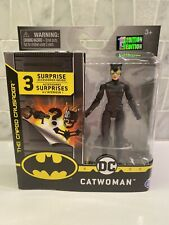 """Spin Master DC The Caped Crusader Catwoman 4"""" figure NEW HTF RARE"""