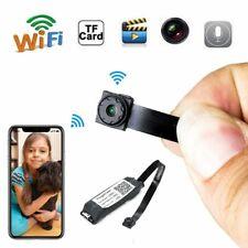 Wireless Spy Tiny IP WIFI Mini DIY Pinhole Hidden Audio Video Micro Camera DVR