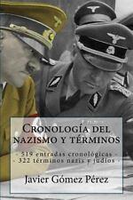 Cronología Del Nazismo y Términos : 519 Entradas Cronológicas - 322 Términos...