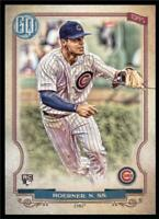 2020 Gypsy Queen Base #201 Nico Hoerner RC - Chicago Cubs