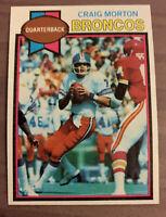 1979 Topps Craig Morton #285 Football Card.🏈Denver Broncos QB🏈