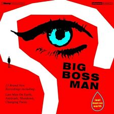 BIG BOSS MAN - LAST MAN ON EARTH   CD NEU
