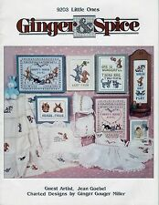 Ginger & Spice 9203 Little Ones Leaflet (CDA Charted Designers Of America)