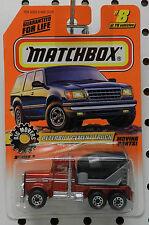 PETERBILT CEMENT RED TRUCK BIG MOVERS 8 1998 MB MBX MATCHBOX