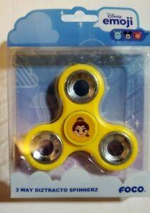 Belle Disney Princess Emoji 3 Way Diztracto Fidget Spinner