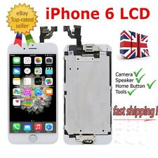 "For IPhone 6 4.7"" White Replacement Digitizer LCD Touch Screen + Button & Camera"