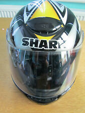 SHARK RSF FULL FACE GRAPHIC MOTORCYCLE HELMET XS 54 BLACK/YELLOW/GREY NEW