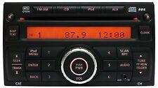 07 08 2011 NISSAN Rogue Versa Cube Xterra RDS Radio MP3 CD Player iPod AUX Input