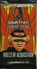 STAR TREK CCG - RULES OF ACQUISITION BOOSTER