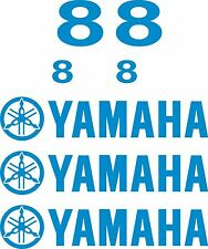 Yamaha outboard decal kit 8 hp decal stickers 8 HP decals