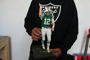 Mcfarlane 14 inch custom Joe Namath New York Jets. Legends.