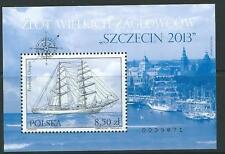 POLAND 2014 GREAT SALING SHIPS MNH