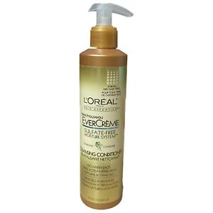 1 L'Oreal EverCreme 6 in 1 Cleansing Conditioner Sulfate Free 8.3oz Camelina