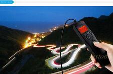 Lapso de tiempo Intervalómetro Temporizador Remoto disparador para Canon 5D Mark II 7D