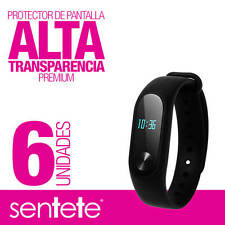Sentete® 6x Xiaomi Mi Band 2 Protector de Pantalla PREMIUM