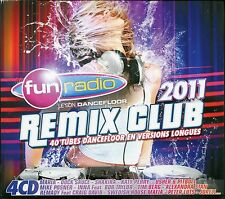 Fun Radio presente Remix Club - 40 tubes dancefloor en versions longue (4 CDà