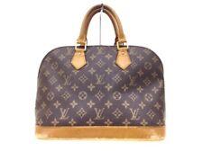 Auth LOUIS VUITTON Alma M51130(Old Model) Monogram AR0959 Handbag