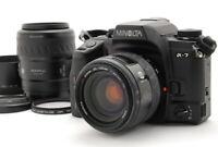 Minolta Maxxum 7 Dynax 7 alpha 7 a-7 Film Camera Body w/ 35-105mm 80-200mm D760