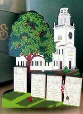 Shelia's Collectibles – Old Church on a Hill, Lenox, Ma – Coa 06