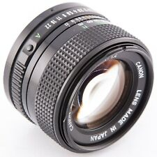 Canon FD 50mm f1.4 manual focus prime lens for Canon FD mount f1.4