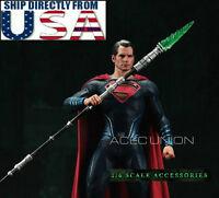 1//6 Green Kryptonite Spear LED Light For Batman Superman Hot Toys IN STOCK ❶USA❶