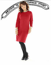 Round Neck Party Plus Size Jersey Dresses for Women