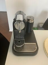 Nespresso Esspreso Machine with Milk Aeroccino Milk Frother   Used Tested