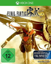 Final Fantasy Type-0 HD (Microsoft Xbox One, 2016)