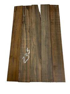 "5 Pack Rosewood Fingerboard Blanks/Fretboards/Lumber 20-1/2""x2-3/4""x1/4"", #235"
