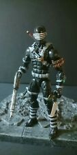 MARVEL LEGENDS CUSTOM G.I. JOE SNAKE EYES PAINT AND ACCESSORIES