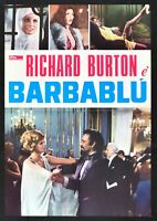 Poster Marlon' Richard Burton Virna Lisi Delon Raquel Welch S14