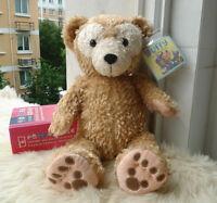 "New Disney Parks Duffy the Disney Bear Plush Plush Toy Gift 17"""