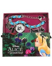Disney Alice In Wonderland Characters Charms Bracelet Watch New In Box!