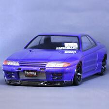 Pandora NISSAN SKYLINE R32 GT-R 1:10 RC Cars Drift 195mm Clear Body Set #PAB-129