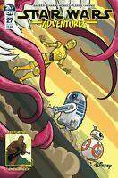 STAR WARS ADVENTURES #27 IDW  COVER B FLEECS  1ST PRINT DISNEY