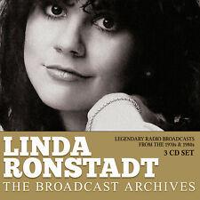 LINDA RONSTADT New Sealed 2020 LIVE 1970s & 80s CONCERTS 3 CD BOXSET