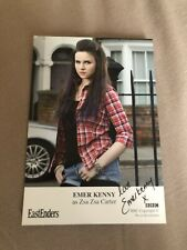 EMER KENNY (EASTENDERS) SIGNED CAST CARD- UNDEDICATED