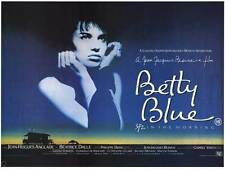 BETTY BLUE Movie POSTER 11x17 B Beatrice Dalle Jean-Hugues Anglade Gerard Darmon