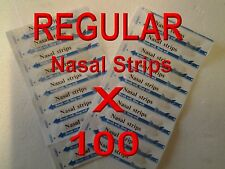 100 MEDIUM NASAL STRIPS ANTI SNORE, BREATH EASY FOR SPORTS, COLDS 100% DRUG FREE