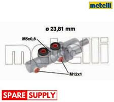 BRAKE MASTER CYLINDER FOR MERCEDES-BENZ METELLI 05-0668