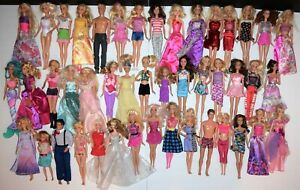 Large Lot of 45 Barbie & Friends Dolls 1970s- Recent with outfits
