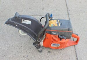 "Husqvarna K760 14"" Professional Gas Concrete Cut-Off Saw with Water Line"