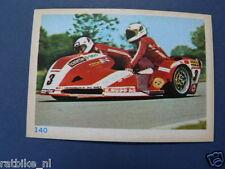 VDH8-140 BILAND/WILLIAMS SEYMAZ-YAMAHA 500 SIDECAR GP PICTURE STAMP ALBUM CARD,