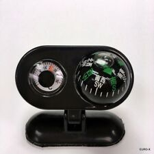 NEW In Car Compass & Thermometer Self-adhesive Combo Display Set #UKgtc