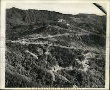 1944 Press Photo Aerial view of the Ledo Road between Burma and China