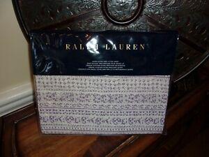 NIP Ralph Lauren Alessandra Hayden Queen Extra Deep Fitted Sheet