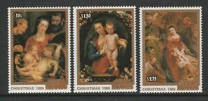 Cook Islands 1986 Christmas set SG 1080-1082 Mnh.